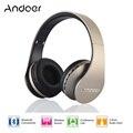 Цифровой 4 в 1 Andoer LH-811 Беспроводные Стерео Bluetooth 4.1 + EDR Наушники Гарнитуры и Проводные Наушники с Микрофоном MicroSD/TF Fm-радио