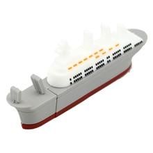 Ship Model Steamship Cruises Ship USB Flash Drive 4Gb/8Gb/16Gb/32Gb/64Gb USB Flash Drive Usb, Pendrive/Car/Gift/Disk U Disk