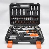 HZ 61094A Инст ключ трещотка установить ключ ручной инструмент сочетание инструменты автомобильный набор торцевых ключей