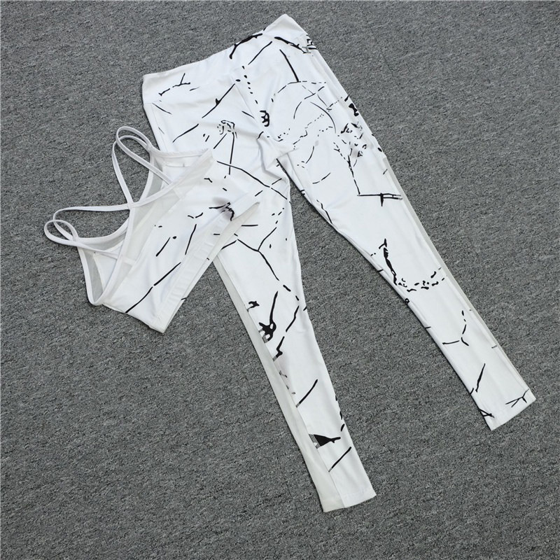 White Marble Tracksuit 4