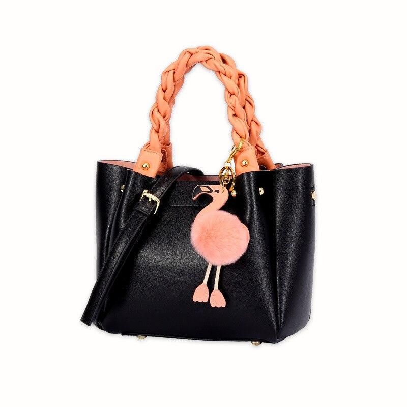 กระเป๋าสตรี 2019 ใหม่ Messenger กระเป๋าแฟชั่นหนังผู้หญิงแบบพกพาไหล่กระเป๋า Retro กระเป๋าถือแฟชั่น-ใน กระเป๋าสะพายไหล่ จาก สัมภาระและกระเป๋า บน   1