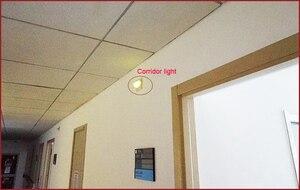 Image 5 - الرقمية اللاسلكية ممرضة مكالمة ضوء نظام استقبال غرفة/الممر الخفيفة المستخدمة للمستشفى/دار التمريض/عيادة
