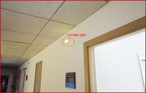Image 5 - Digital Wireless nurse call light receiver system room/corridor light used for hospital/nursing house/clinic