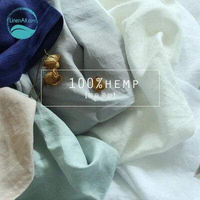LinenAll fabrics 100 hemp fabrics for bedding sheet curtain font b clothing b font scarves 2