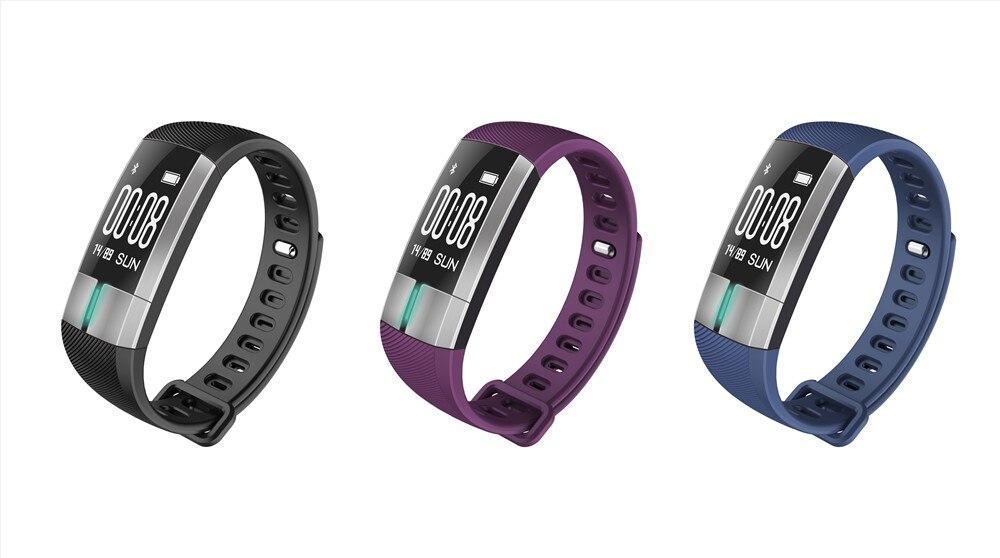 G20 Smart Band Blood Pressure Bracelet Fitness Activity Tracker Bracelet ECG Date Monitoring Wristband
