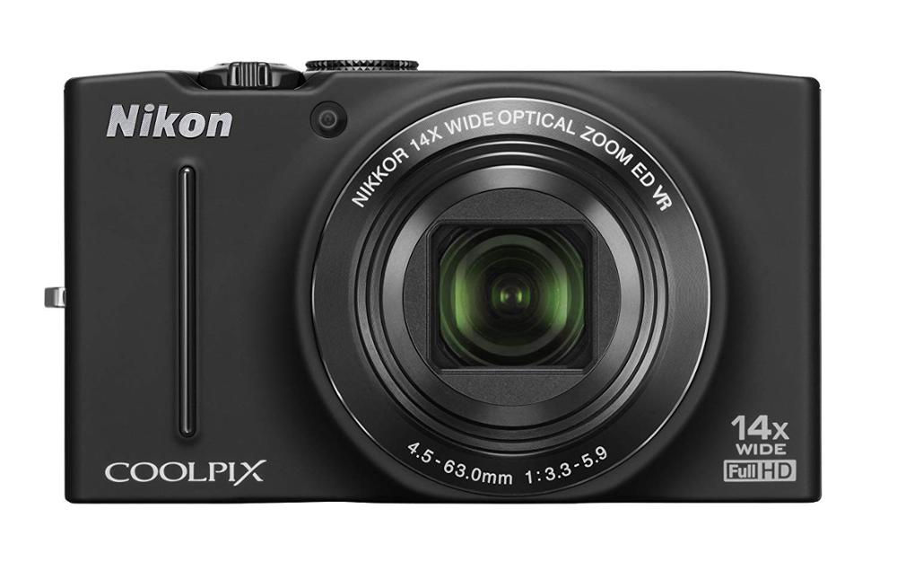Used,Nikon COOLPIX S8200 16.1 MP CMOS Digital Camera with 14x Optical Zoom NIKKOR ED Glass Lens and Full HD 1080p Video