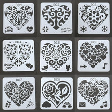Clearance Heart Theme Painting Template Scrapbooking Albums for Drawing DIY Wedding Photo Album Children's Scrapbook Album(China)