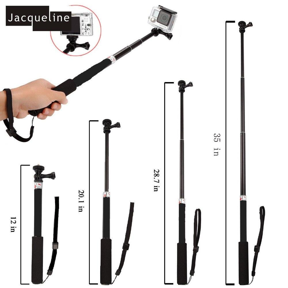 Jacqueline til tilbehørssæt Selfie m / telefonlåsbeslag til Gopro - Kamera og foto - Foto 5
