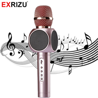 E103 Wireless Microphone Bluetooth Handheld KTV Microphone Moble Speaker Outdoor Music Party For Iphone Android