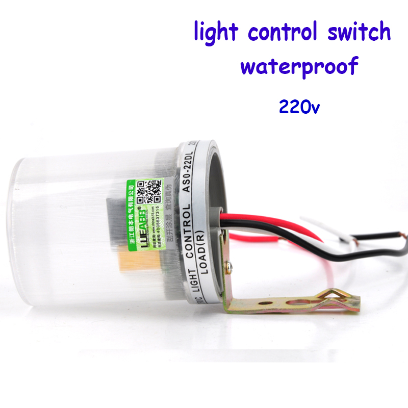 Newest Automatic Auto On Off  Photocell street Light Switch Photo Control Photoswitch Sensor DC AC 220V 50-60Hz 10A YY waterprooof auto street lamp switch photoelectric automatic switches as20 ac220v 10a