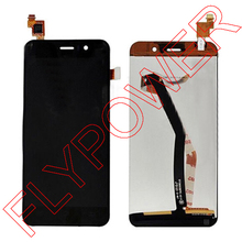 LCD Screen Display with Touch Screen Digitizer +Back light Assembly For jiayu G4 G4S Black color By Free Shipping