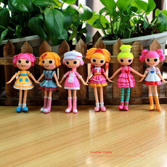 15cm 2015 New Bitty Buttons Mga Mini Lalaloopsy Littles Dolls Toys
