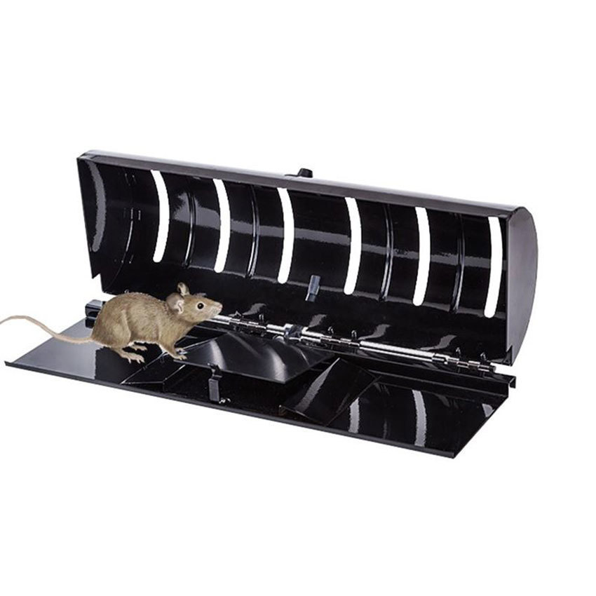 Easy to install Mouse Trap Mousetrap Home Rodent Artifact Catch Mouse Cage Rat Catch Mouse Clip Not Need Bait|Traps| |  - title=