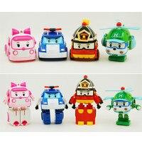 Robocar Poli Toy Transformation Robot Car Toys Poli Robocar Toys For Children Gifts 4pcs Set