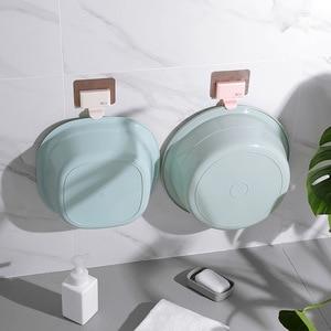 Image 2 - 1 P Creative Shape Strong Washbasin Rack Towel Hook Adhesive Multi Purpose Hooks Organizer Holder Plug Kitchen Bathroom Hooks