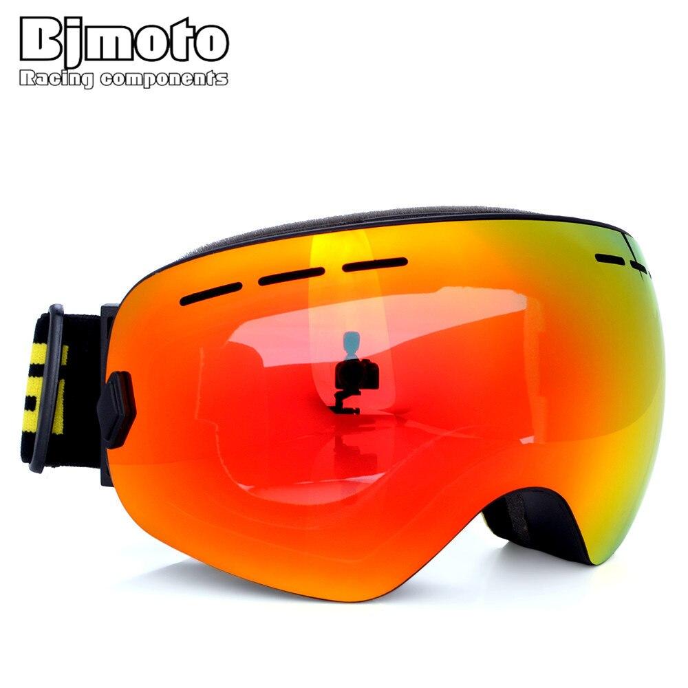 BJMOTO Мотокросс лыжные очки Байк Goggle Гибкая мотоциклов очки Óculos Лыжный Спорт катание очки сноуборд очки MTB