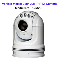 1080P 2MP ONVIF 20X MINI IR 50M Network Cam Outdoor Waterproof Mobile Vehicle PTZ IP Security