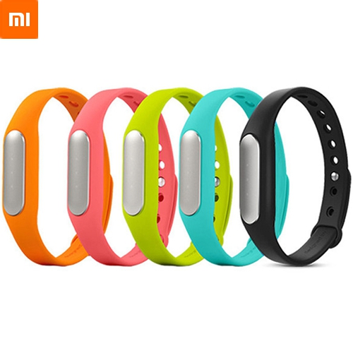 100% Original Xiaomi Mi Band Smart Miband Bracelet For Android 4.4 IOS 7.0 MI3 M4 Tracker Fitness Wristbands Original Box