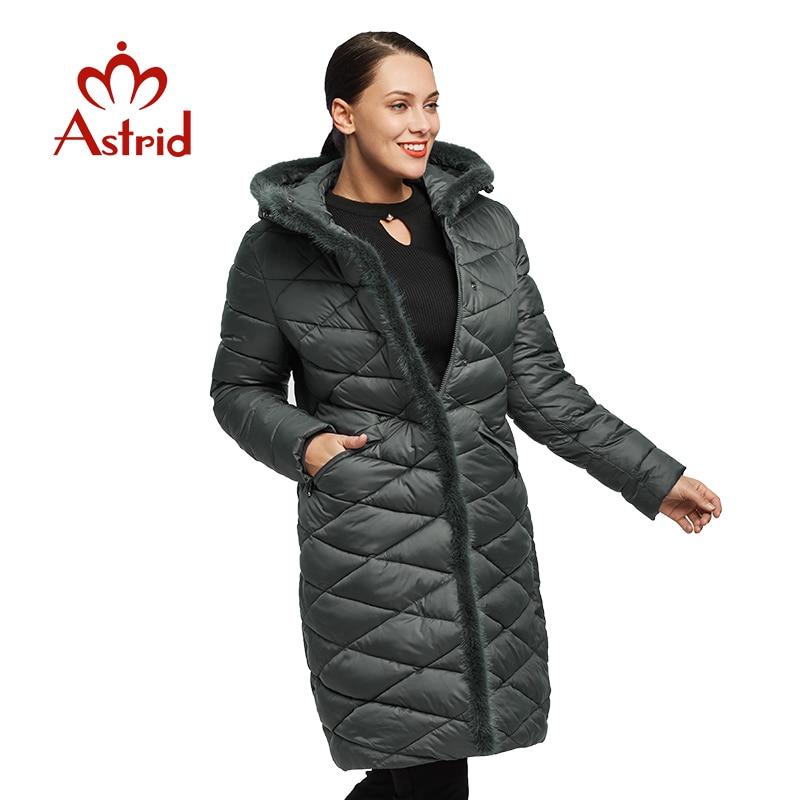 Astrid Winter female Jacket Coats women Mane plus size Windproof Warm Women Thickening Cotton Padded Female