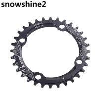 Snowshine2 #3522 104BCD 36ครั้งเบาอัลลอยด์จักรยานจักรยานChainringวงกลมรอบChainwheelขายส่ง