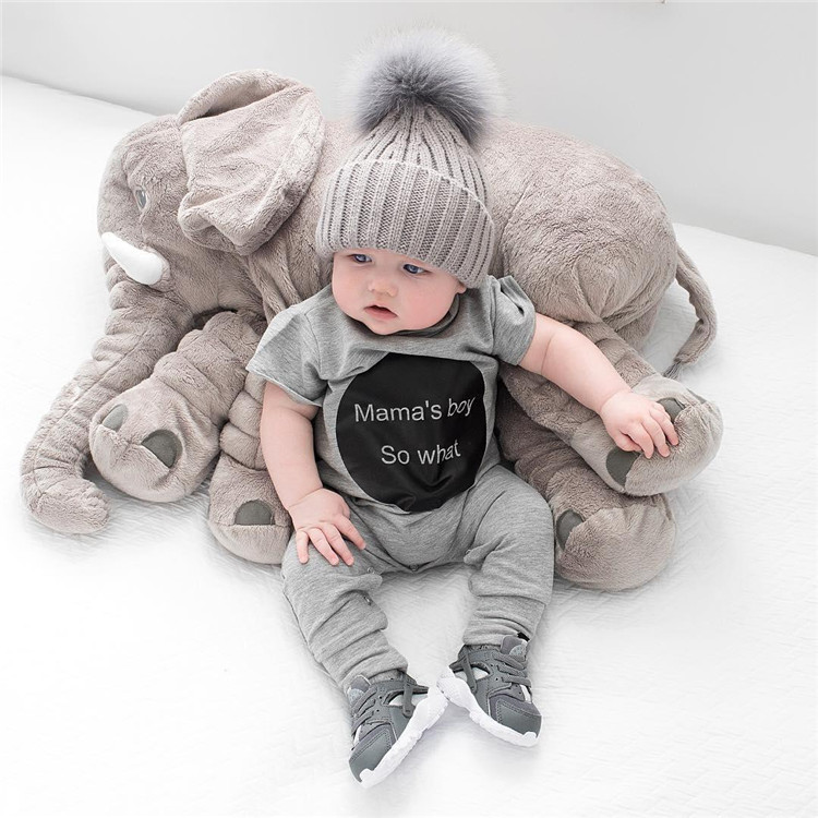 Letter baby rompers boys girls clothes summer kids romper newborn infant roupas de bebe fille overall toddler clothes ins 4m-24m