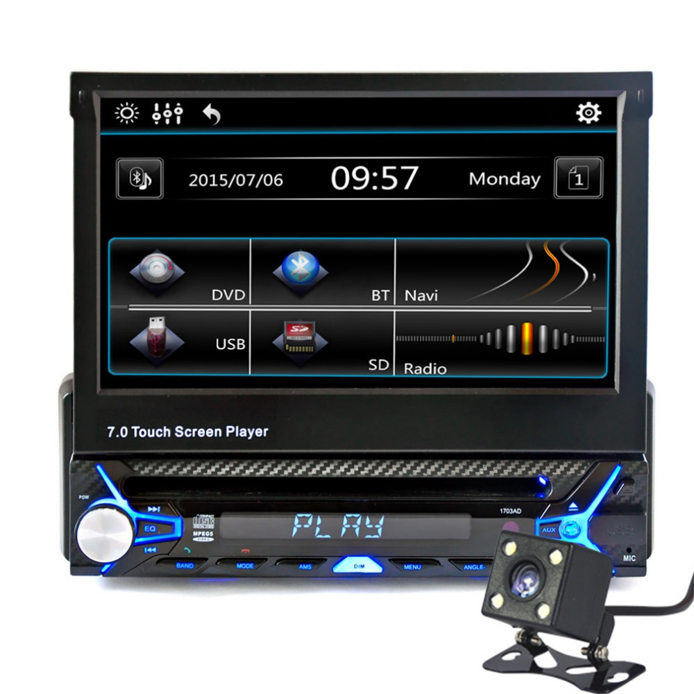 new 7 inch 2din car bluetooth mp5 player hd touch screen bluetooth mp5 player car mp5 player. Black Bedroom Furniture Sets. Home Design Ideas