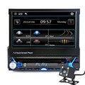 Nueva Pantalla Táctil de 7 Pulgadas 2Din Coche Bluetooth Reproductor MP5 HD Bluetooth MP5 Jugador Del Coche MP5 Reproductor de Audio y Vídeo con Pantalla Contracción