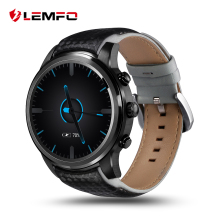 "Hot! LEMFO LEM5 Smart uhr 1 GB + 8 GB 1,39 ""bildschirm 400*400 Android 5.1 OS MTK6580 Quad Core smartwatch Telefon Für android ios"