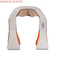 Hot Sale Heated Kneading Therapy Back Neck Shoulder Massager Relax Pain Relief Body Relax