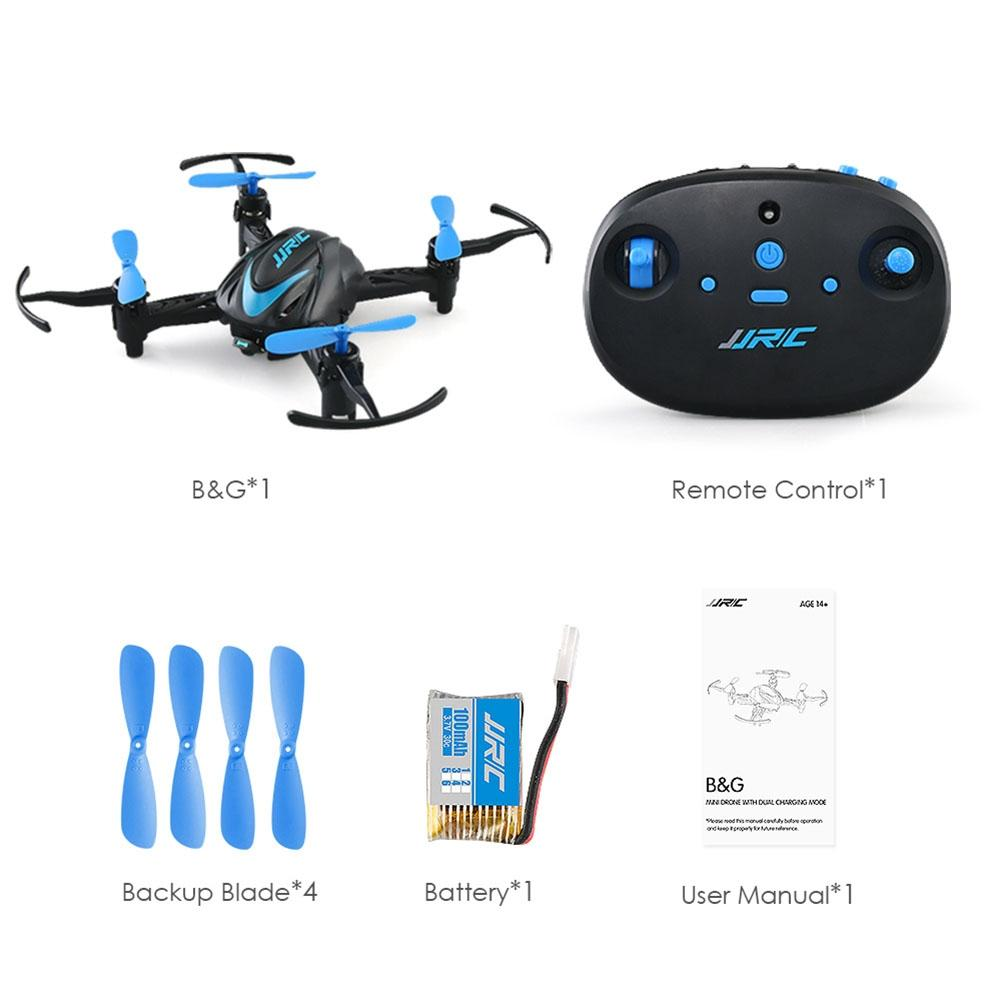 LeadingStar JJRC H48 Mini Drone RC Quadcopter Indoors Remote Controller Charging Drone Aircraft VS h33