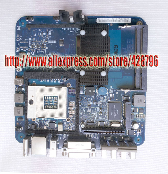 631-0347 M40A  MLB 820-1900-A OEM Logic Board 1.83(T2400) GHz  for M Mini A1176  EMC 2108, Ma608,GMA 950 64M lowell настенные часы lowell 21445 коллекция