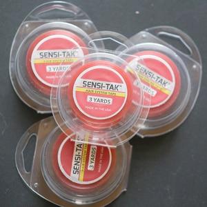 "Image 2 - 1/2""X 3 yards SENSI TAK  super quality adhesive  tape new package  wig tape hair tape"