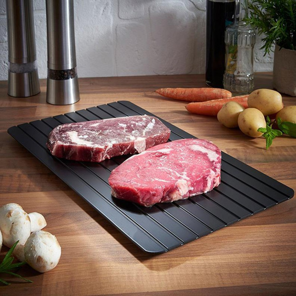 Meijuner Fast Defrosting Tray Thaw Frozen Food Meat Fruit Quick Defrosting Plate Board Defrost Kitchen Gadget Tool 13