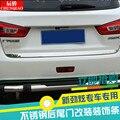 Для Mitsubishi ASX 2013-2019 Высокое качество нержавеющая сталь/ABS задняя дверь украшение автомобиля Стайлинг автомобильные аксессуары автомобильные...