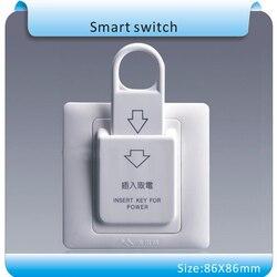 10pcs 86x86mm high grade hotel magnetic card switch 220v 25a energy saving switch insert key for.jpg 250x250