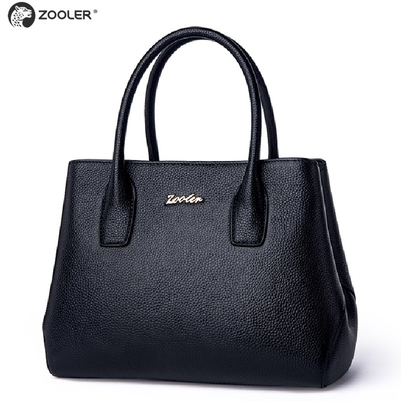 wedding bag 2019 new ZOOLER genuine leather bag Luxury woman bag large capacity elegant solid handbag
