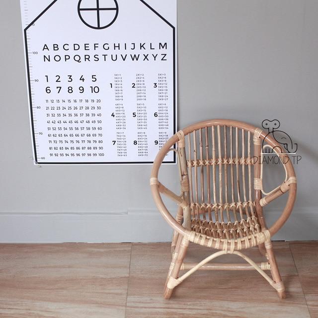 Children's Rattan Chair  4
