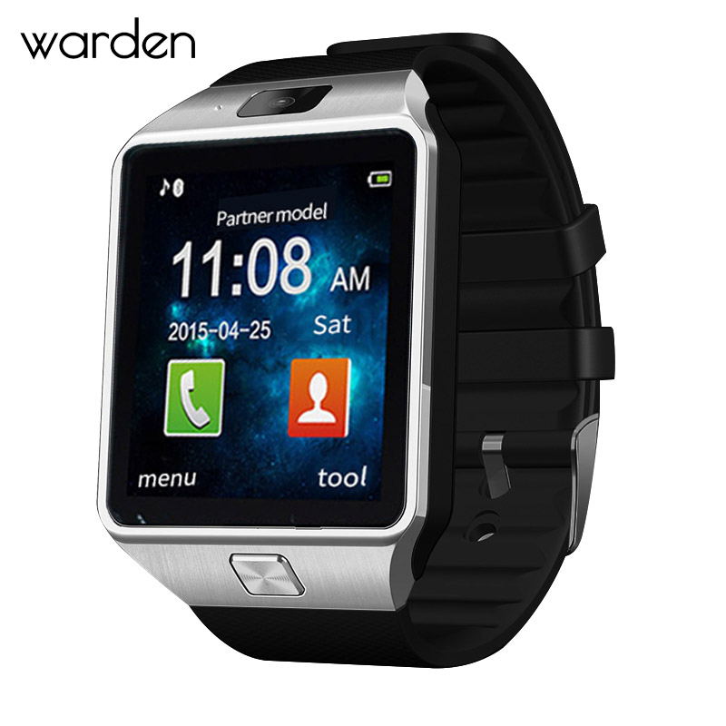 Warden Electronic Men Smart Watch Led Sport Life Waterproof Pedometer Smartwatch Bluetooth Digital Watch For Android ios Phone u8 bluetooth smart watch for android ios sync phone call pedometer anti lost sport u watch smartwatch pk gt08 dz09 gv18
