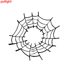 Spiders Web Car Window Sticker Vinyl Decal Funny Novelty Bumper Sticker 3ubt3