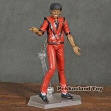 Figma 096 MJ Thriller MV Ver. Figura de acción de PVC, juguete de modelos coleccionables
