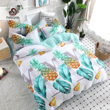 ParkShin Nordic Pastoral Art Series Bedding Set Soft Duvet Cover Bedspread Pillowcase Single Double Queen King Size Bed Linens