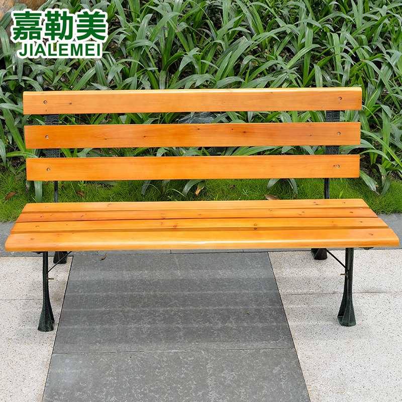 Outdoor Furniture Wood Preservative Wooden Chair Balcony