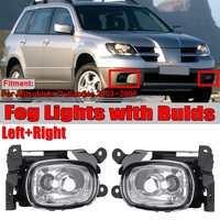 2pcs Car Front Fog Light Lamp Driving Light Foglight Car Fog Light For Mitsubishi Outlander 2003 2004 2005 2006 With Bulds