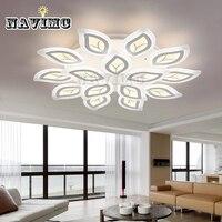 Акриловые современный светодиодный Потолочные светильники для Гостиная фойе Спальня Кухня Освещение потолочный светильник дома Освещени