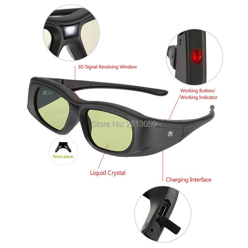bluetooth 3D TV glasses 1-4
