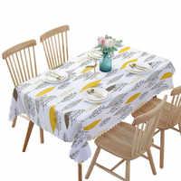 PVC Wasserdicht Tischdecken Pflanzen Pastoralen Tisch Tuch Hintergrund Tuch Kunststoff Tisch Tuch Wohnkultur Manteles Toalha De Mesa