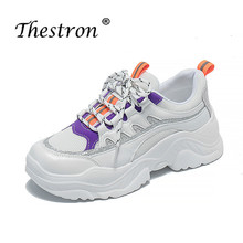Thestron 2019 New Trend Ladies Jogging Sneakers Luxury Brand Gym Shoes Female Designer Women Height Increase