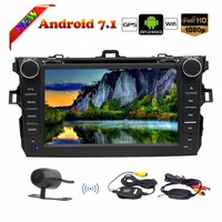 Two 2 Din Car Stereo Android 7 8 Core Car DVD Player In deck Head Unit Car Autoradio GPS Navigation with Capacitive Touchscreen
