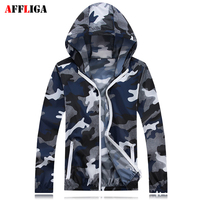 AFFLIGA Lovers Vetements Jackets Men Women Windbreaker Hoodie Sun Protection Homme Camouflage Very Soft Skin Bomber Jacket Tops
