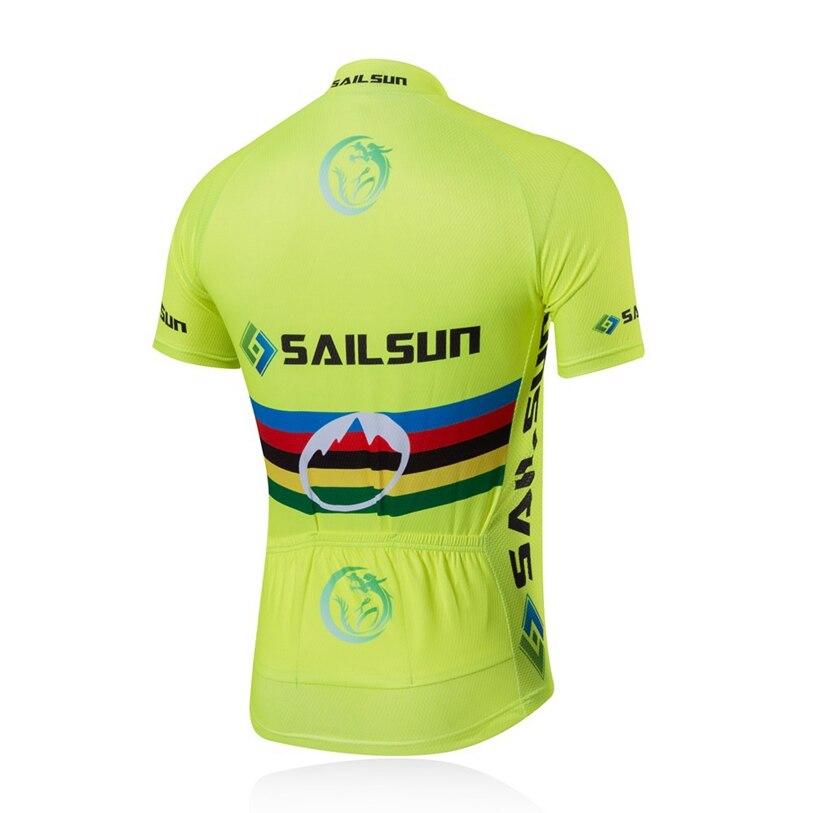 155ed7100 SAIL SUN Men Pro Bike Cycling Jersey Top Light Green Bicycle Clothing Team  mtb Summer Male Bike Shirts Jacket Quick Dry